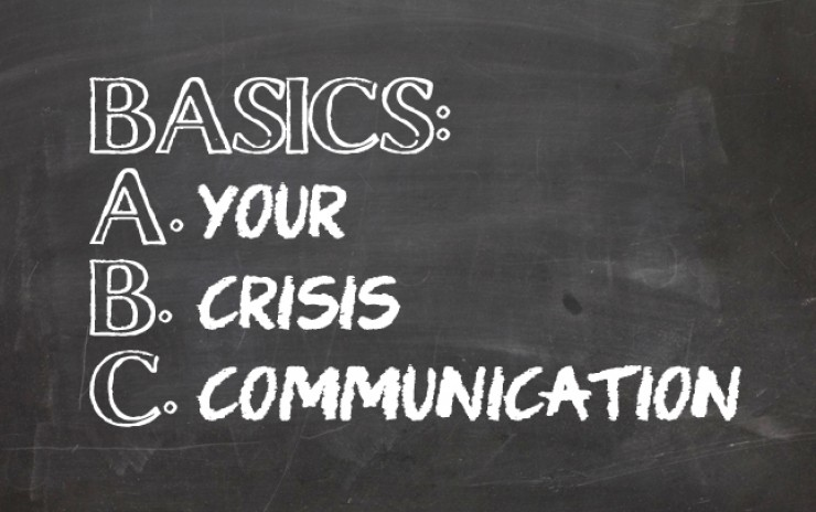 Basics For Crisis Communications