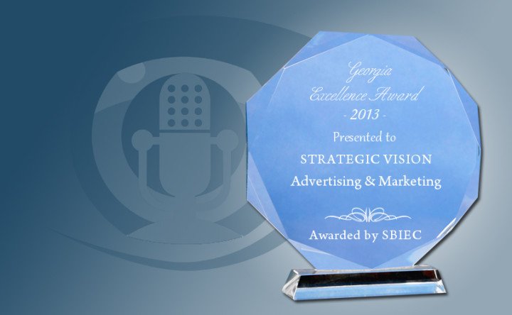 Strategic Vision PR Group Selected For 2013 Georgia Excellence Award